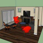 فصل 4: مدل سازی صحنه داخلی از روی عکس با استقاده از اسکچاپ
